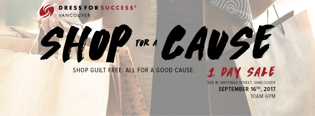 Dress for Success - One Day Sale September 16, 2017